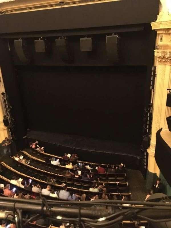 Hudson Theatre, Abschnitt: Balcony R, Reihe: A, Platz: 6