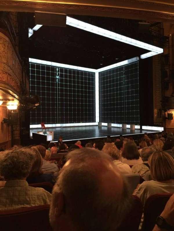 Ethel Barrymore Theatre, Abschnitt: Orchestra, Reihe: M, Platz: 12