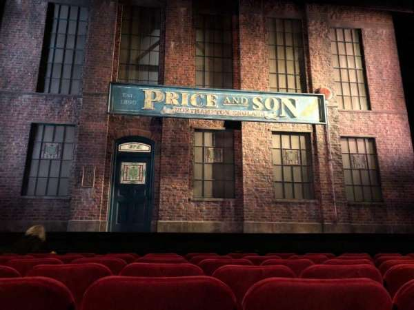 Al Hirschfeld Theatre, Abschnitt: Orchestra, Reihe: G, Platz: 111