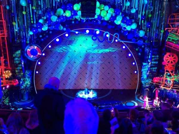 Palace Theatre (Broadway), Abschnitt: Mezz, Reihe: E, Platz: 104