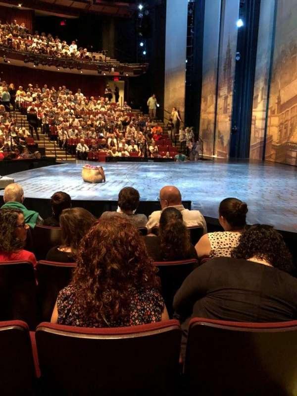 Vivian Beaumont Theater, Abschnitt: Orchestra, Reihe: F, Platz: 115