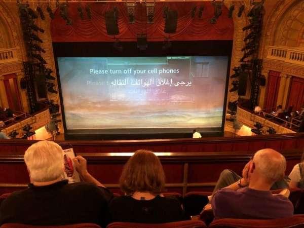 Ethel Barrymore Theatre, Abschnitt: Rear Mezz, Reihe: D, Platz: 108