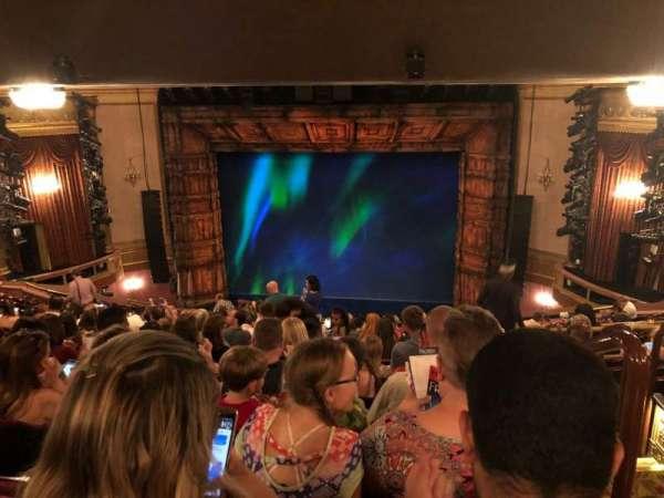 St. James Theatre, Abschnitt: Mezz, Reihe: Q, Platz: 101