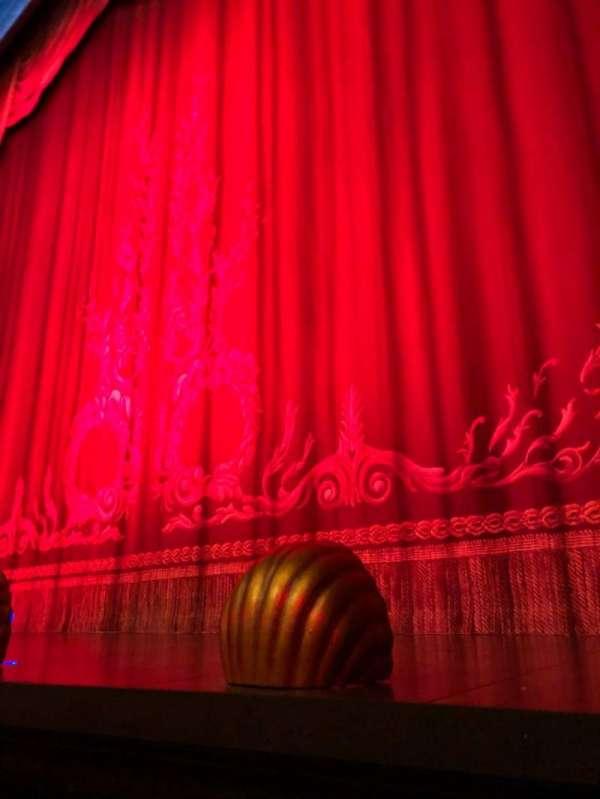 Hudson Theatre, Abschnitt: Orchestra, Reihe: A, Platz: 114