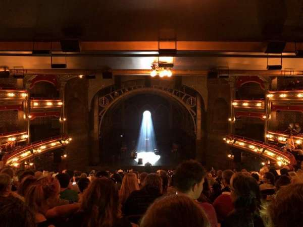 Lyric Theatre, Abschnitt: Dress Circle C, Reihe: L, Platz: 114