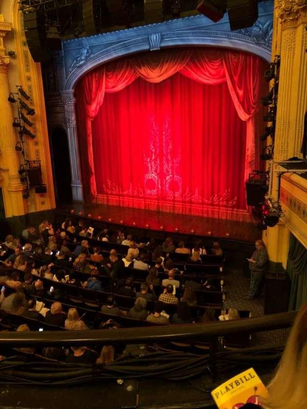 Hudson Theatre, Abschnitt: Dress Circle, Reihe: B, Platz: 10