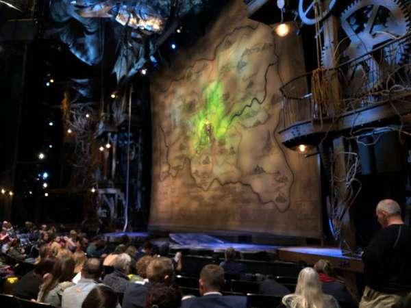 Gershwin Theatre, Abschnitt: ORCH R, Reihe: D, Platz: 24