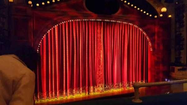 Shubert Theatre, Abschnitt: Mezzanine Left, Reihe: B, Platz: 3