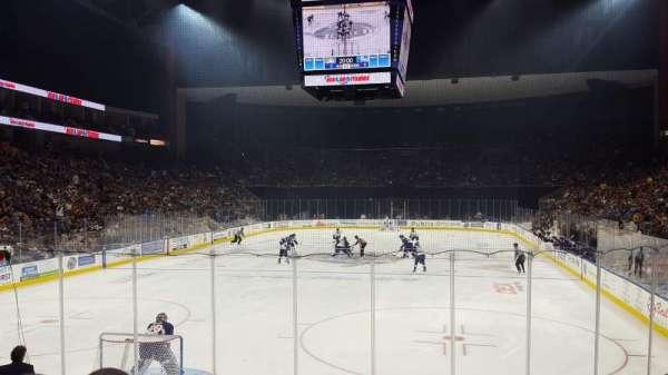 VyStar Veterans Memorial Arena, Abschnitt: 108, Reihe: K, Platz: 4