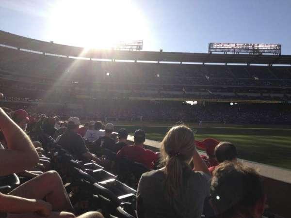 Angel Stadium, Abschnitt: F131, Reihe: C, Platz: 16