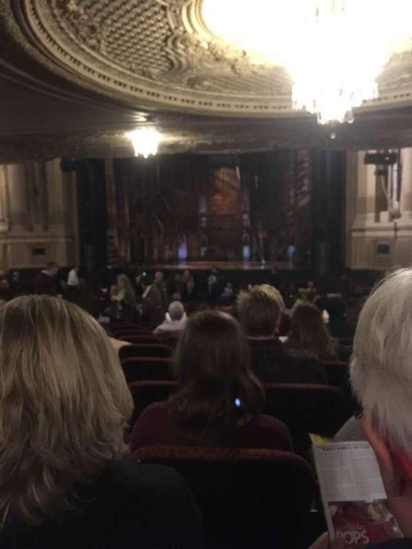 Boston Opera House, Abschnitt: ORCHRC, Reihe: W, Platz: 22