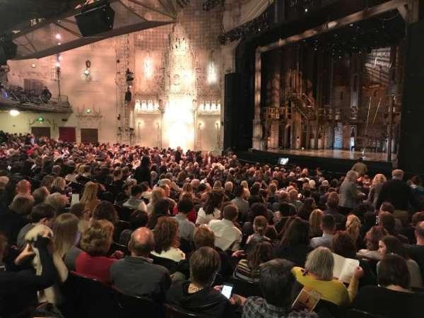 Orpheum Theatre (San Francisco), Abschnitt: Orch, Reihe: Y, Platz: 6