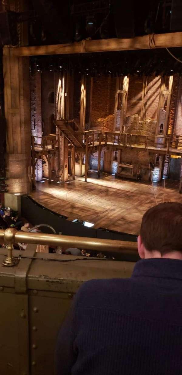 CIBC Theatre, Abschnitt: Mezzanine R, Reihe: B, Platz: 4