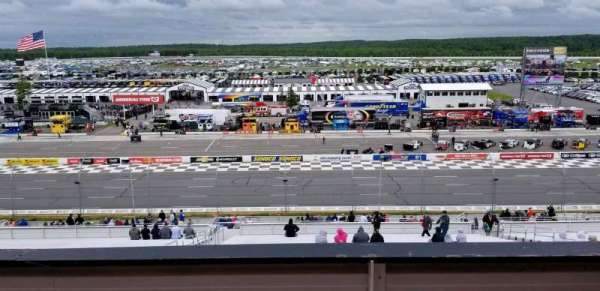Pocono Raceway, Abschnitt: 315, Reihe: B, Platz: 7