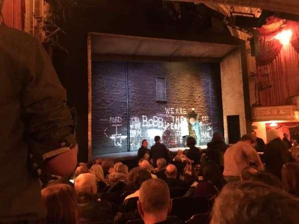 Bernard B. Jacobs Theatre, Abschnitt: Orchestra Left, Reihe: M, Platz: 19