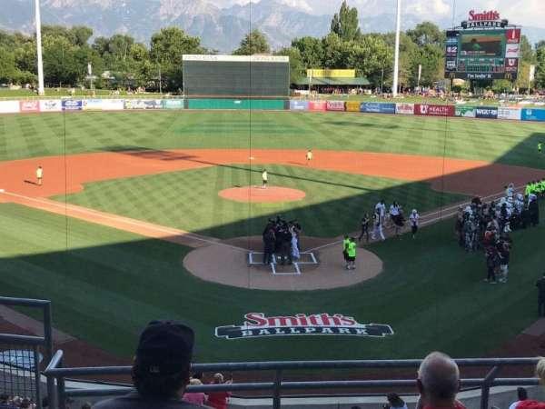 Smith's Ballpark, Abschnitt: 109, Reihe: 5, Platz: 16