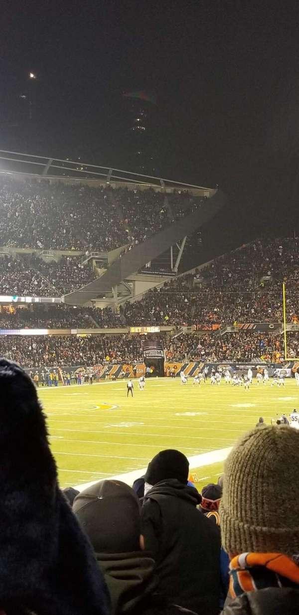Soldier Field, Abschnitt: 115, Reihe: 14, Platz: 8