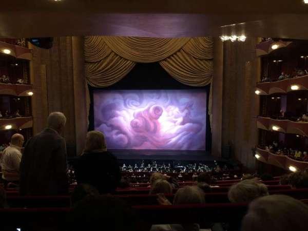 Metropolitan Opera House - Lincoln Center, Abschnitt: Grand Tier, Reihe: F, Platz: 110