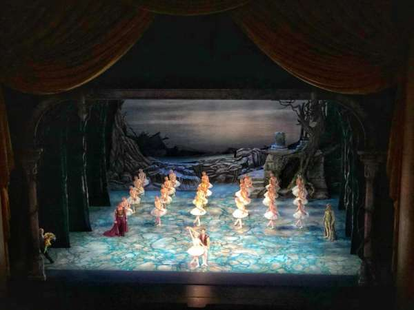 Metropolitan Opera House - Lincoln Center, Abschnitt: Balcony, Reihe: B, Platz: 110