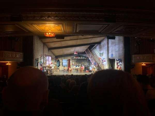 Bernard B. Jacobs Theatre, Abschnitt: Orchestra, Reihe: R, Platz: 114