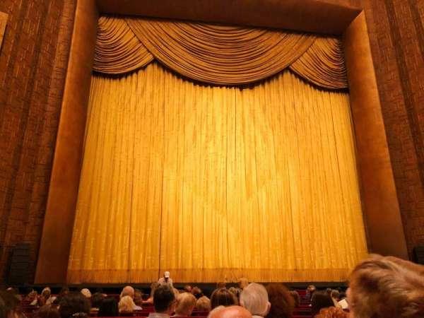 Metropolitan Opera House, Abschnitt: Orchestra, Reihe: N, Platz: 103