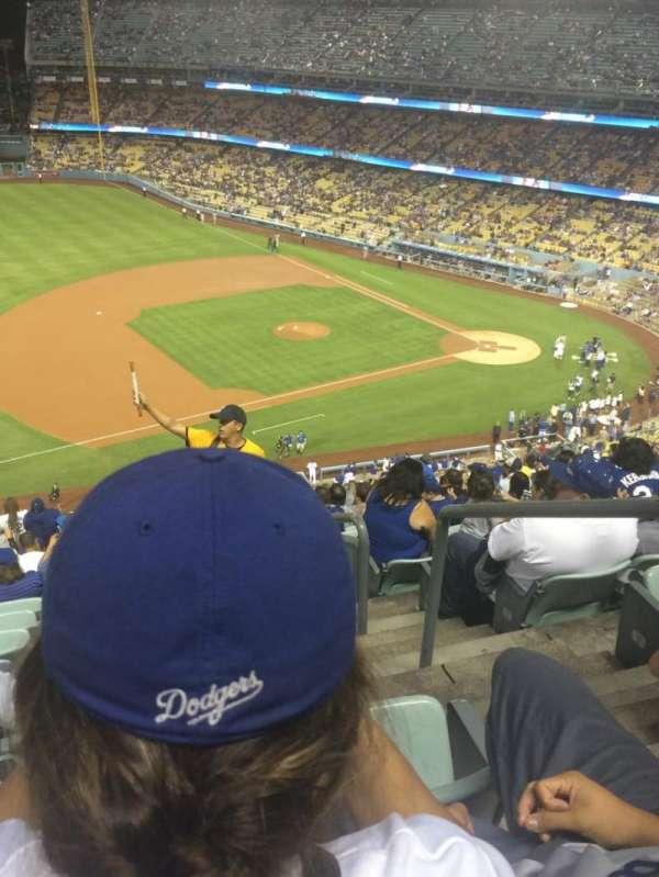 Dodger Stadium, Abschnitt: 27RS, Reihe: U, Platz: 1