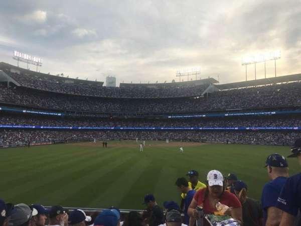 Dodger Stadium, Abschnitt: 312, Reihe: F, Platz: 18