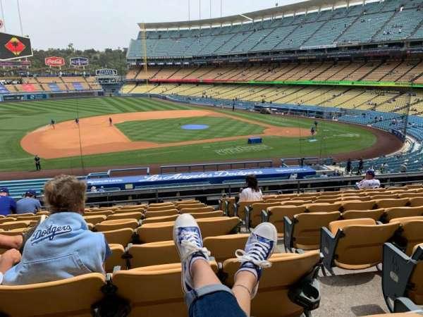 Dodger Stadium, Bereich: 135LG, Reihe: K, Platz: 1