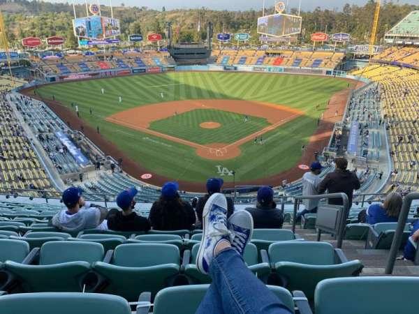 Dodger Stadium, Bereich: 3RS, Reihe: M, Platz: 2