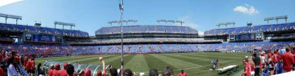 M&T Bank Stadium, Abschnitt: 127, Reihe: 3, Platz: 20