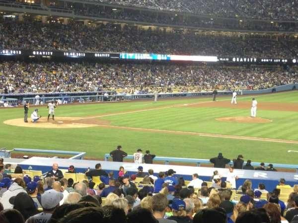 Dodger Stadium, Abschnitt: 18FD, Reihe: W, Platz: 5