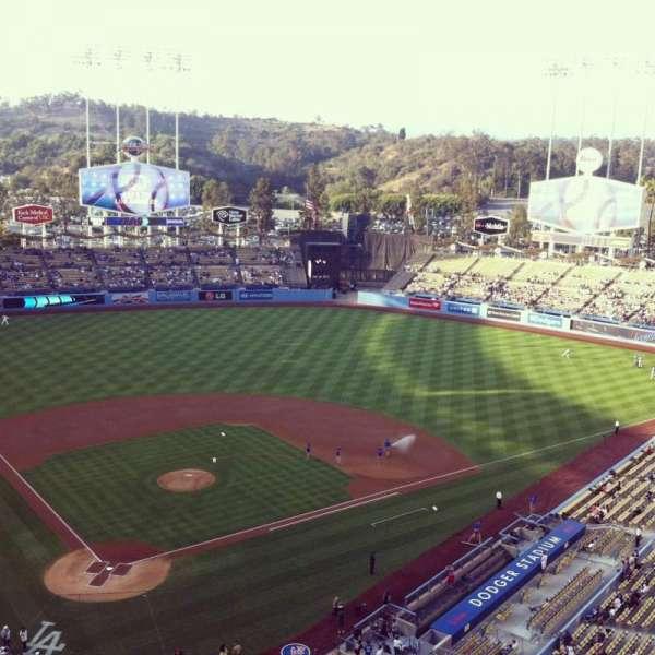 Dodger Stadium, Abschnitt: 6TD, Reihe: A, Platz: 3