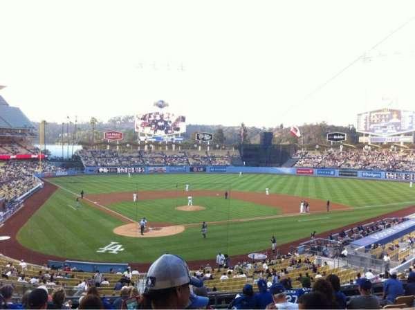 Dodger Stadium, Abschnitt: 110LG, Reihe: L, Platz: 6