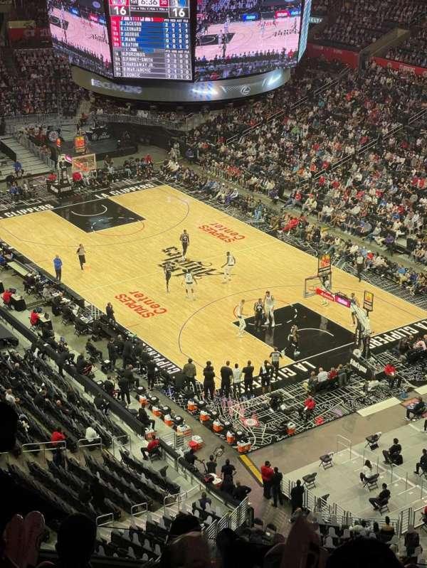 Staples Center, Bereich: 330, Reihe: 8, Platz: 7