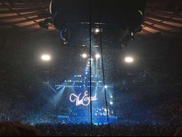 Madison Square Garden, Bereich: 2, Reihe: 18, Platz: 3