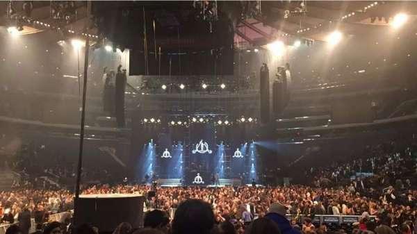 Madison Square Garden, Bereich: 3, Reihe: 15, Platz: 5