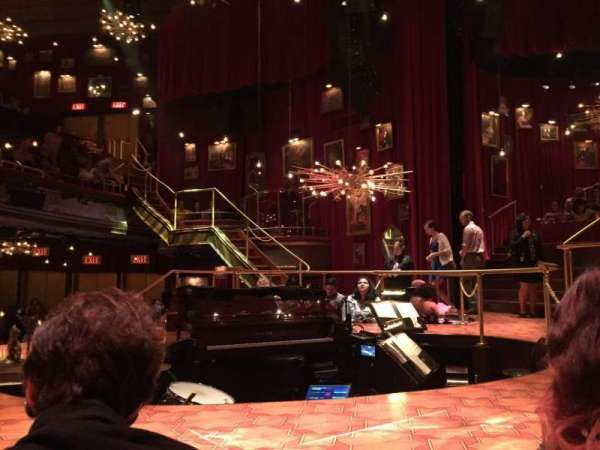 Imperial Theatre, Abschnitt: Stage Left Sunken Table, Reihe: TK, Platz: 1