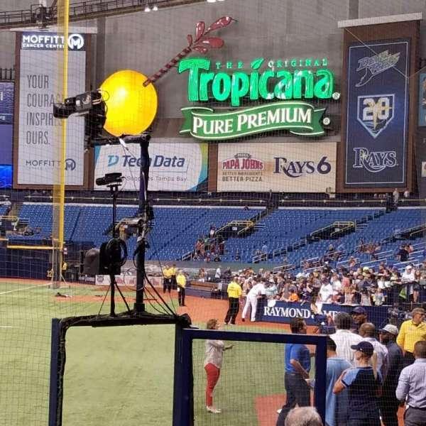 Tropicana Field, Bereich: 103, Reihe: M, Platz: 1