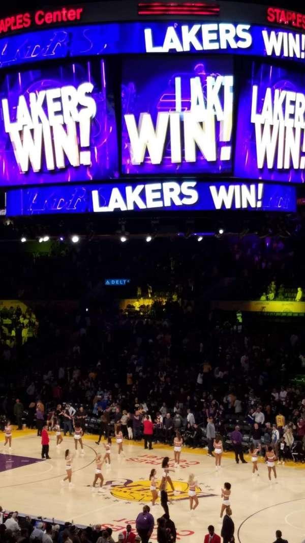 Staples Center, Bereich: PR3, Reihe: 9, Platz: 2