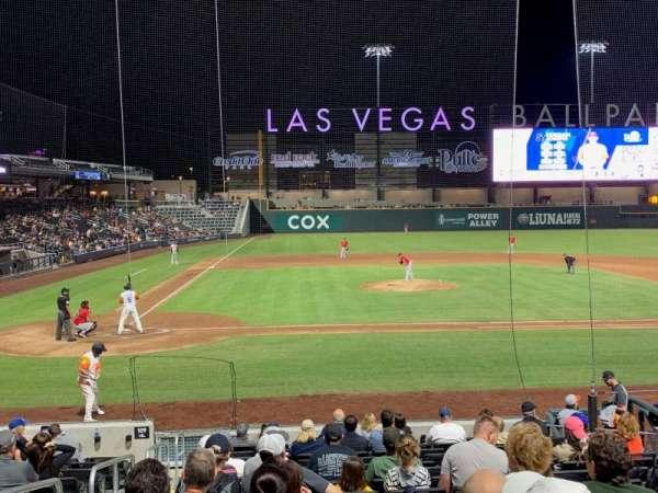 Las Vegas Ballpark, Abschnitt: 108, Reihe: Q, Platz: 2