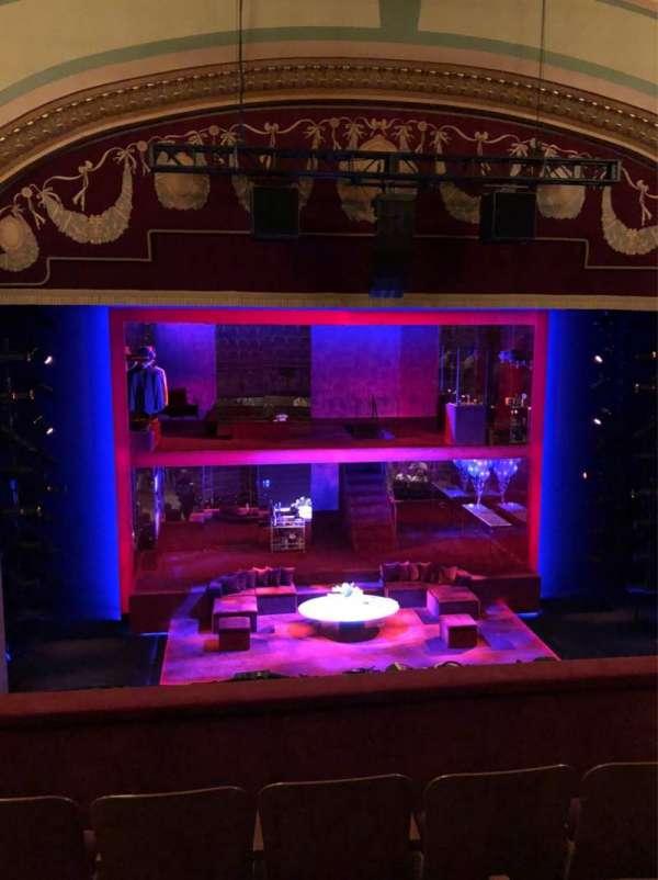 Booth Theatre, Abschnitt: Mezzanine, Reihe: D, Platz: 103