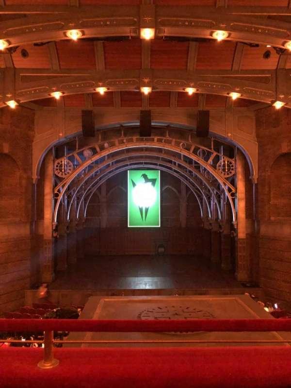 Lyric Theatre, Abschnitt: Dress Circle C, Reihe: B, Platz: 112