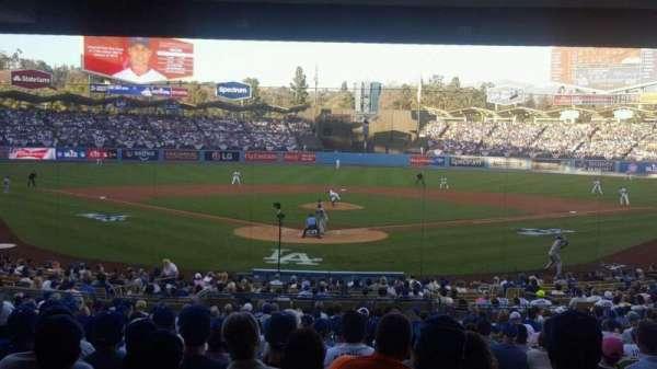 Dodger Stadium, Abschnitt: Field Level, Reihe: Standing