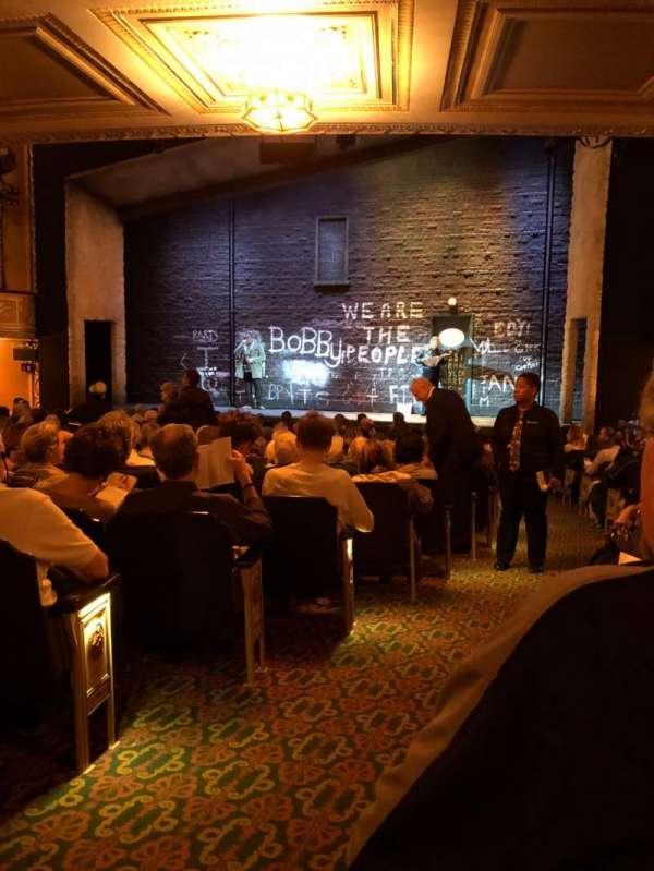 Bernard B. Jacobs Theatre, Abschnitt: Orch, Reihe: P, Platz: 2