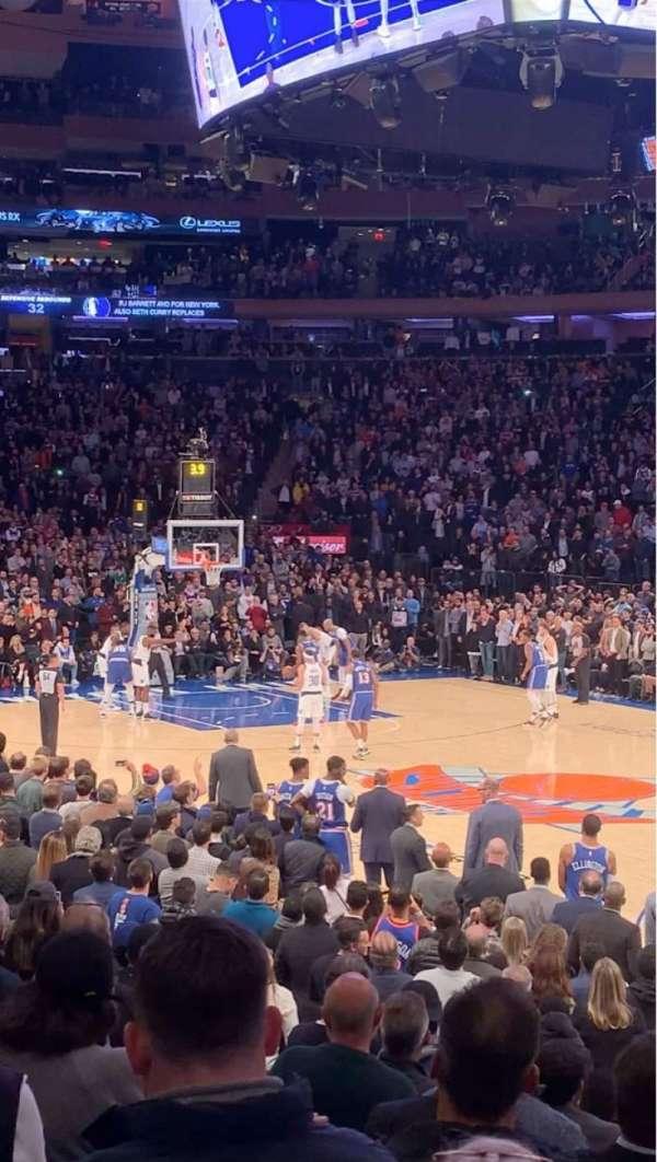 Madison Square Garden, Abschnitt: 109, Reihe: 8, Platz: 14