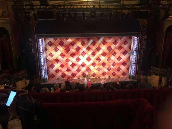 Brooks Atkinson Theatre, Abschnitt: Front Mezzanine C, Reihe: F, Platz: 116