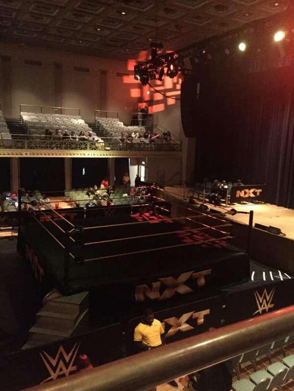 War Memorial Auditorium, Abschnitt: Tier 12 Front, Reihe: 1, Platz: A6
