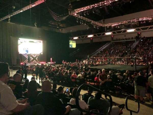 Orleans Arena, Abschnitt: 114, Reihe: EE, Platz: 1