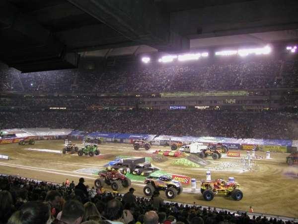 Silverdome, Abschnitt: 119, Reihe: 25, Platz: 3