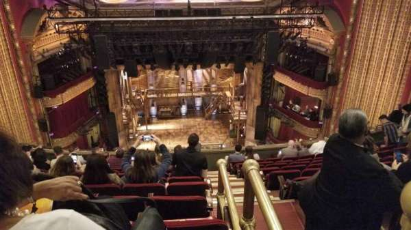 CIBC Theatre, Abschnitt: Balcony LC, Reihe: K, Platz: 401